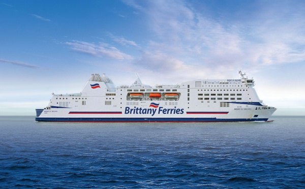 Brittany Ferries tangue mais continue d'avancer