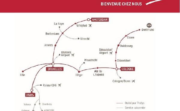 Thalys fête une année complète de croissance
