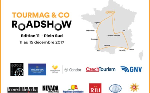 11 partenaires pour la 11e édition du TourMaG and Co RoadShow
