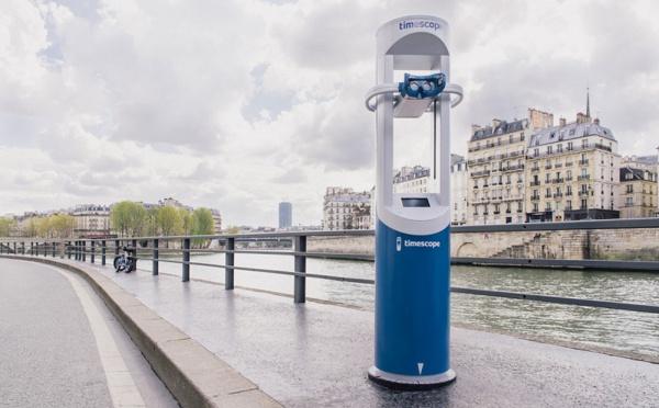 Timescope : des bornes de réalité virtuelle en libre-service sur les lieux touristiques