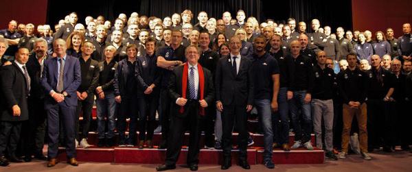 Club Med Opio accueille les cadres et entraîneurs de l'Equipe de France Olympique