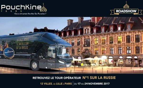Pouchkine Tours part en roadshow
