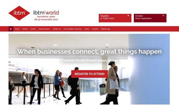 15 500 professionnels attendus au salon IBTM World à Barcelone