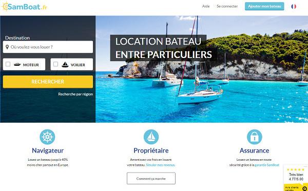 Samboat ouvre son site aux pros de la location