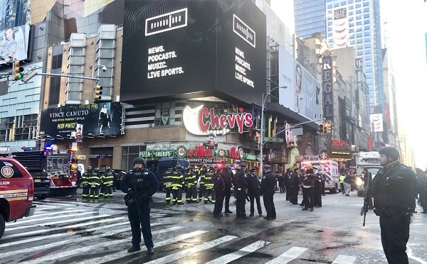 New York : explosion d'une bombe dans le métro