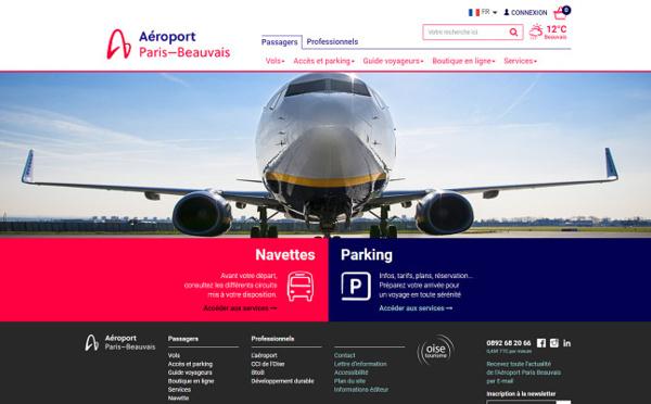 L'Aéroport de Paris Beauvais développe la réservation de parking en ligne