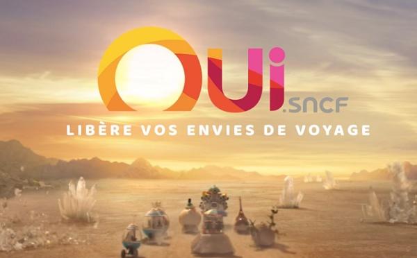 La case de l'Oncle Dom : la SNCF dit Oui à l'onirie jubilatoire. Qu'est-ce qu'on jubile !
