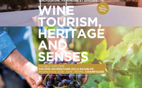 ESC Troyes ouvre un DU & Bachelor, Wine Tourism, Heritage and Senses