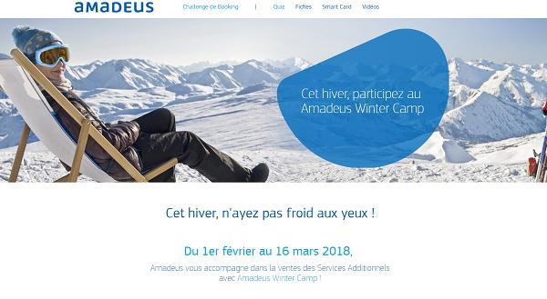 Amadeus : vendez des services et gagnez un chèque-cadeau