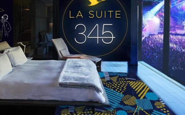 """Paris : la """"Suite 345"""" s'installe à l'AccorHotels Arena"""