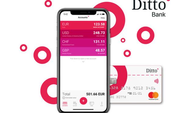 Ditto Bank, une nouvelle banque mobile pour les voyageurs ?