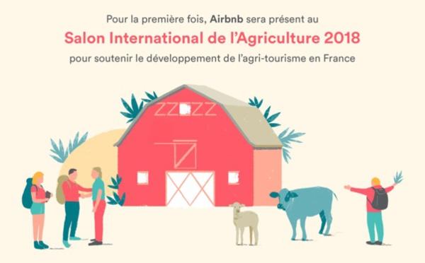Airbnb exposera au Salon de l'Agriculture à Paris