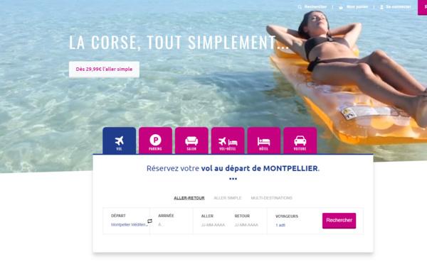Aéroport de Montpellier : nouveau site et nouvelles fonctionnalités