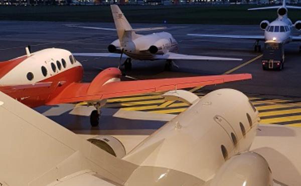 Harmony-jets déploie ses ailes à Lyon Bron Aéroport