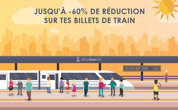 Allons Bon Train : la start-up qui fait économiser 60% sur le billet de train