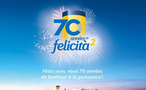 Costa fête ses 70 ans au DITEX