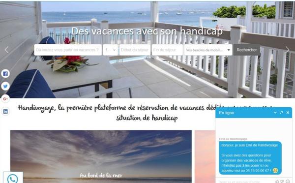 Handivoyage, le Booking.com adapté au handicap