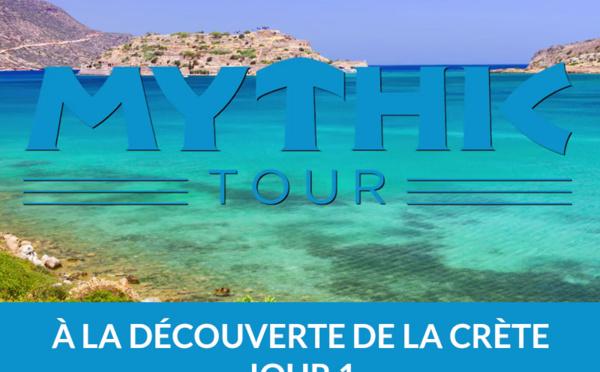 MythicTour Héliades en Crète : première journée de découverte