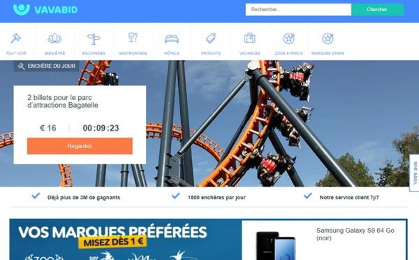 Vavabid.fr : le nouveau site d'enchères piloté par Gilles Delaruelle