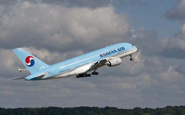Korean Air offre un code promotionnel de 5%
