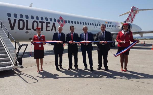 Volotea vise 250 000 passagers sur Marseille en 2018