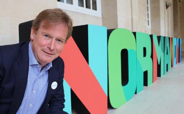 Michael Dodds, nouveau directeur du CRT de Normandie