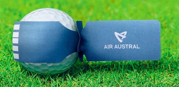 Air Austral chouchoute ses clients golfeurs
