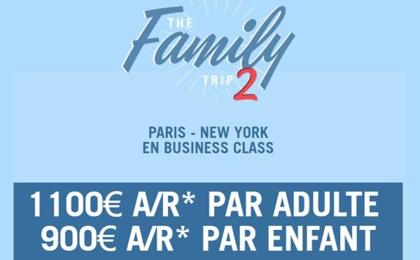 """La Compagnie lance des tarifs """"The Family Trip"""""""