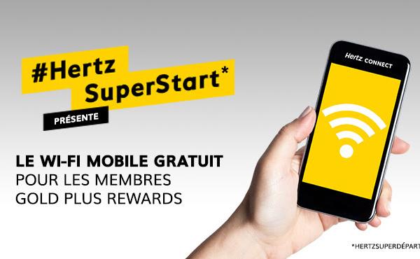 Hertz Connect offre la 4G aux membres de Gold Plus Rewards