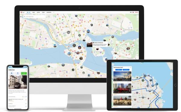 Carte touristique : Sygic Maps lance un nouveau site et une nouvelle appli