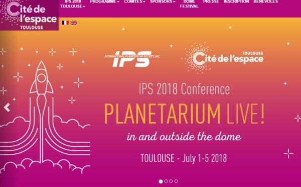 La Cité de l'espace accueille le congrès de l'International Planetarium Society