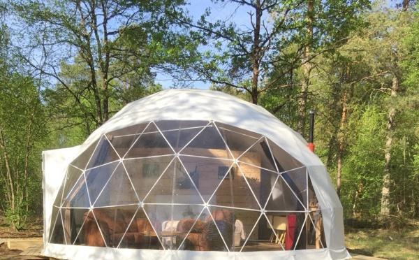 Les Gites insolites de Sologne : dormir dans sa bulle