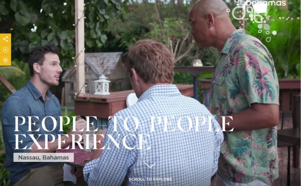 Bahamas : les touristes invités à domicile
