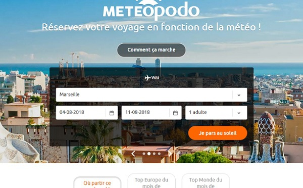 Meteopodo : une plateforme pour choisir sa destination selon la météo