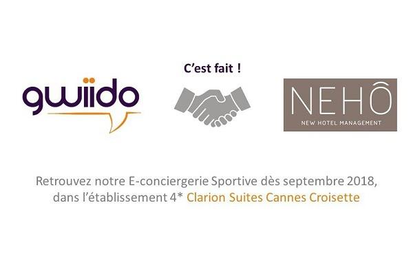 Gwiido : l'e-conciergerie sportive devient réalité en signant son premier client