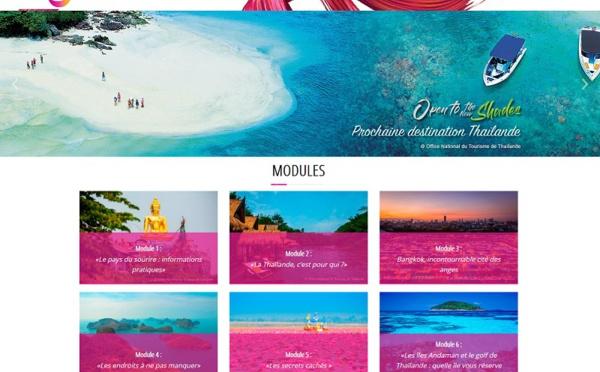 L'office du tourisme de Thaïlande propose un e-learning