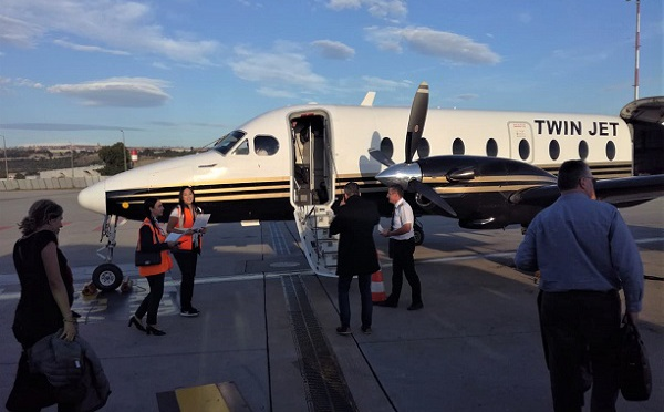 Twin Jet : j'ai testé pour vous le vol dans un avion de 19 places