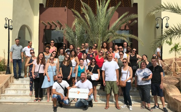 Mondial Tourisme a emmené 90 agents de voyages en Tunisie