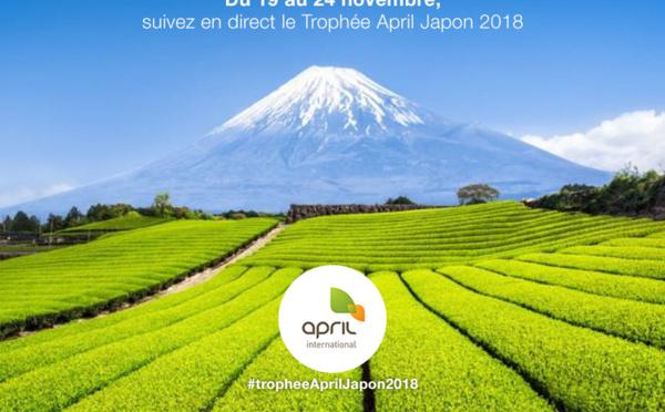 Trophée April 2018 : destination le pays du soleil levant