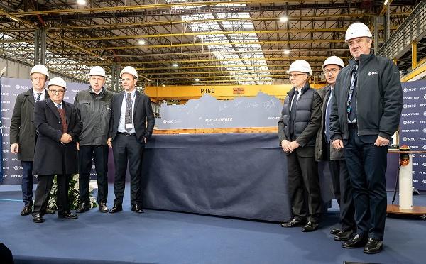MSC Croisières dévoile le nom de son premier navire Seaside EVO