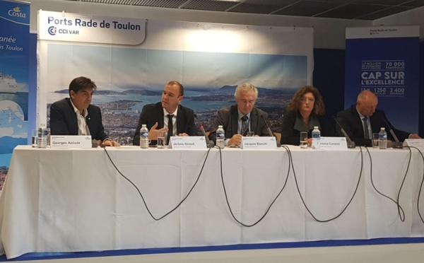 Costa Croisières fait son retour en tête de ligne sur Toulon