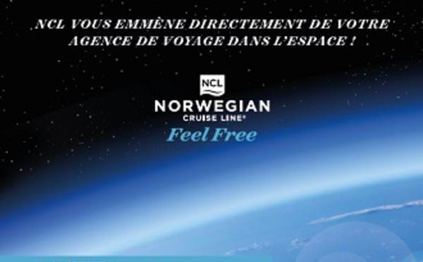 Norwegian Cruise Line fait gagner un vol en avion de chasse aux agents de voyages