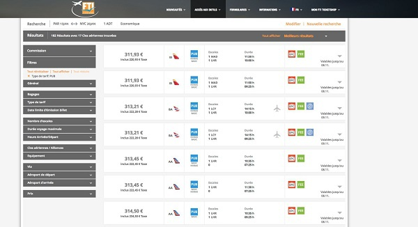 FTI Ticketshop : le consolidateur sort un nouvel outil de réservation