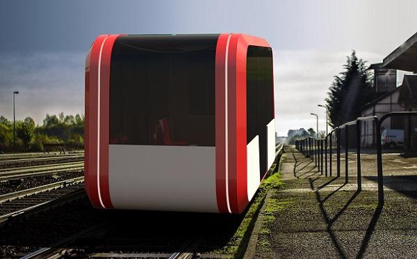 Taxirail : et si le train du futur était français ?