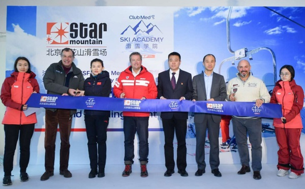 """""""China Ski Academy"""" : Club Med poursuit sa conquête du marché chinois"""