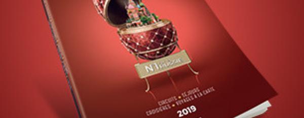 Pouchkine Tours fait paraître sa brochure 2019