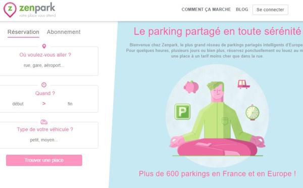 Parkings : Zenpark lève plus de 10 millions d'euros
