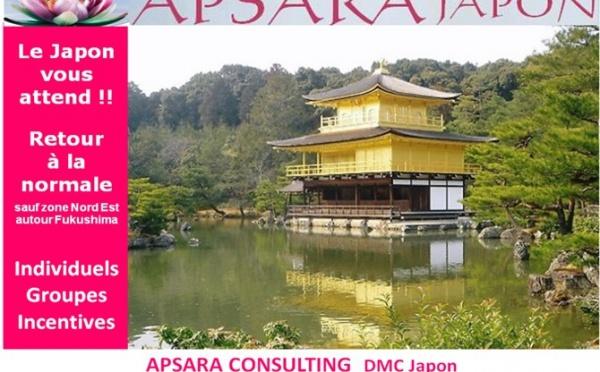 APSARA JAPON : LE SOLEIL BRILLE AU JAPON !