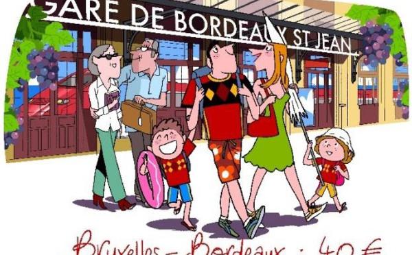 Thalys : ouverture des ventes de la ligne Bordeaux-Bruxelles