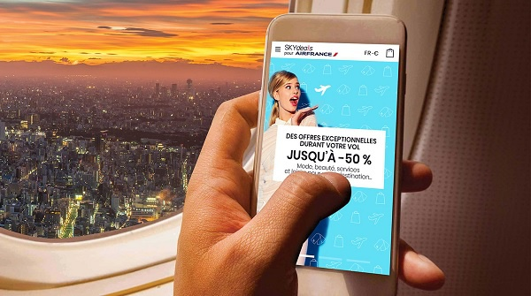 Air France : Skydeals digitalise les ventes à bord des avions